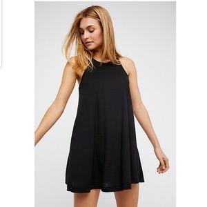 Free People | LA Nite Mini Dress Black Sz.S